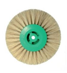 white bristle 4 rows brush